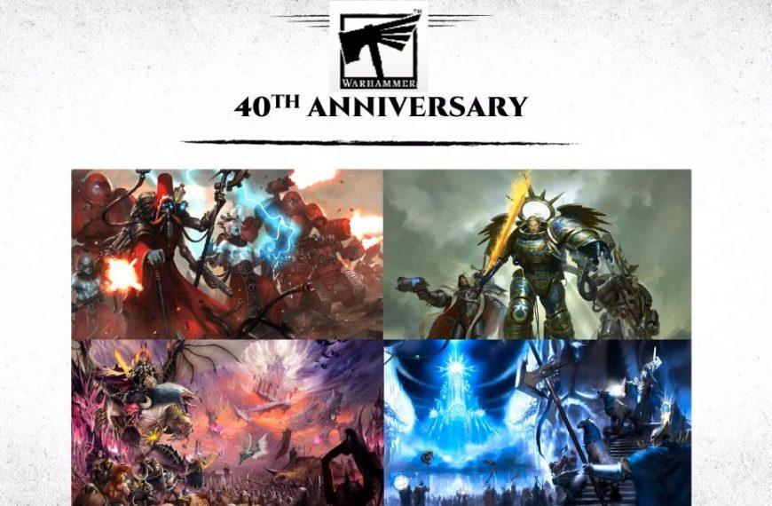 Warhammer 40th Anniversary